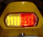 Kawasaki ZX-7 R ZX7R ZX7 ZX-7R 1996 1997 1998 1999 2000 2001 2002 2003 96 97 98 99 00 01 02 03 LED Taillight with INTEGRATED Turnsignals Turn Signals