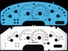 Ford Explorer Sport 2002-2003 2-Color Style Illumiglo Gauges