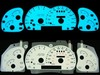 Ford Ranger 1995-1997 2-Color Style Illumiglo Gauges