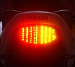 Kawasaki Vulcan 800 1995-2006 LED Clear Lens Taillight with INTEGRATED Turnsignals
