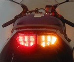 Yamaha YZF R6 2006 Special Edition Model LED Clear Lens Taillight with INTEGRATED Turnsignals