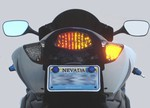 Suzuki GSXR 1000 2005-2006 LED Smoked Lens Taillight with INTEGRATED Turnsignals
