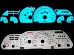 Chevy Camaro Z28 1993-1996 2-Color Style Illumiglo Gauges