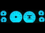 Jeep Cherokee Wagoneer 1987-1990 2-Color Style Illumiglo Gauges