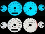 Nissan Frontier 2001 2-Color Style Illumiglo Gauges