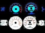 Dodge Avenger 160 MPH With Oil 1995-1999 Halo Style Illumiglo Gauges