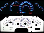 Ford Explorer Sport 2002-2003 Reverse Style Illumiglo Gauges 02 03 glow