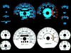 Jeep Cherokee 1991-1996  Halo Style Illumiglo Gauges