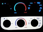 Ford F-150 1997-2003 Reverse GLOWING AC Panel 1998 1999 2000 2001 2002 97 98 99 00 01 02 03 glow