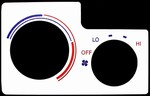 Toyota Celica 1994-1999 White AC Panel